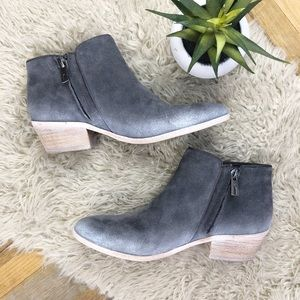 Sam Edelman Shoes - •SAM EDELMAN• Suede Navy Petty 2 Ankle Boot/Bootie